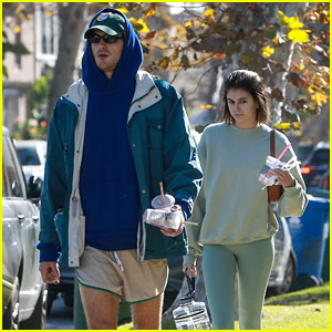 Jacob Elordi Wears Short Shorts for a Workout with Girlfriend Kaia Gerber