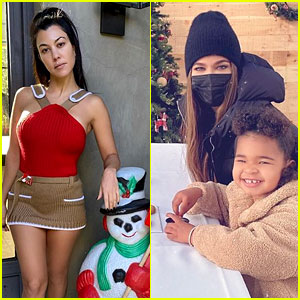 Kardashian Jenner Family Members Share Festive Christmas Eve Photos After Cancelling Annual Party