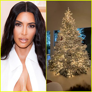 Kim Kardashian Shows Off Her Christmas Tree & Whoville Decorations!