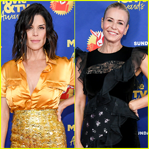 Neve Campbell, Chelsea Handler, & More Show Up In Person for MTV Movie & TV Awards 2020