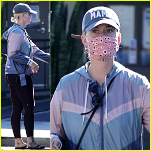Katy Perry Shows Off Her 'Mama' Pride While Running Errands