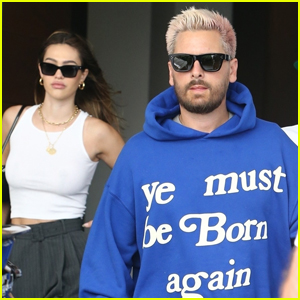 Scott Disick & Girlfriend Amelia Hamlin Head Out for the Day in Miami