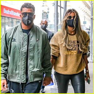Ciara & Russell Wilson Dine Out at Nobu in NYC For Lunch
