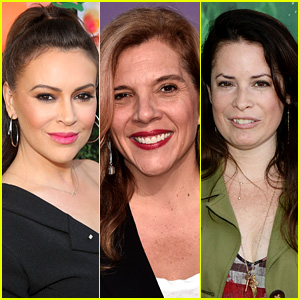 Holly what marie doing is now combs Alyssa Milano