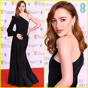 Phoebe Dynevor Makes First In Person Red Carpet Appearance Since 'Bridgerton' Success - See BAFTAs 2021 Look!