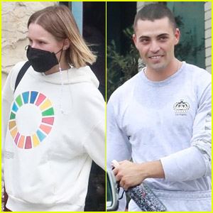 Kristen Bell & Co-Star Benjamin Levy Aguilar Hit the Gym Together in Los Feliz