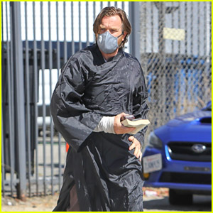First Photos of Ewan McGregor on 'Obi-Wan Kenobi' Set, Cast Seen Covering Up Costumes