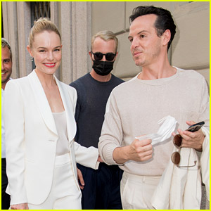 Kate Bosworth & Andrew Scott Hang Out Together at Armani Fashion Show in Milan!