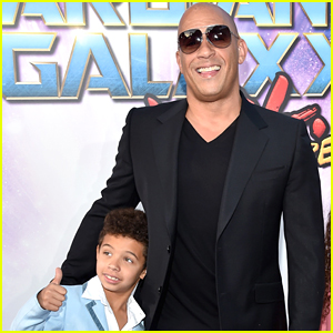Vin Diesel Opens Up About Having His Son Vincent Play A Young Version of Him in 'F9'