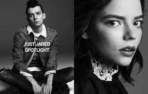 Asa Butterfield Anya Taylor-Joy Spotlight
